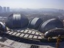 Il Jinan Grand Theater in Cina (Paul Andreu Architecte)