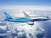 Boeing 787 Dreamliner: il primo volo in Italia